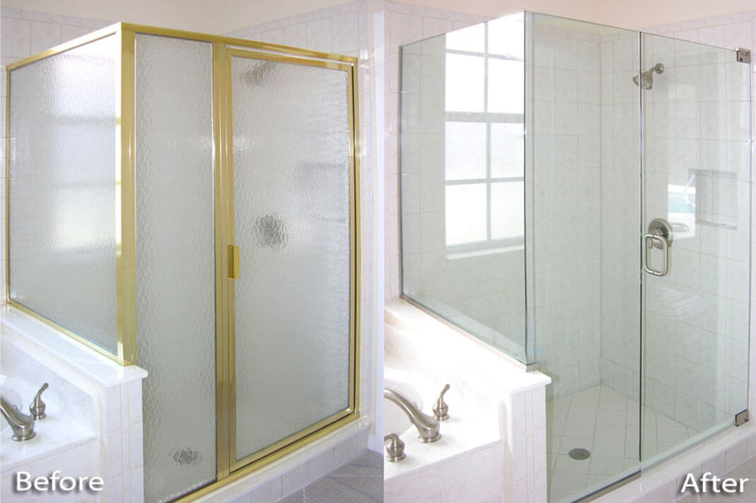 Before After Gallery Your Shower Door